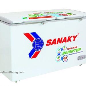 Tủ đông Sanaky VH-2899W3 230 lít Inverter, 2 ngăn đông mát