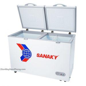 Tủ đông Sanaky VH-405A2 305 lít, 1 ngăn đông 2 cánh mở